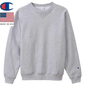 Champion チャンピオン クルーネックスウェットシャツ 9oz MADE IN USA C5-P001 オックスフォードグレー リブラセレクトストア libra select store libra-ss LBR 浜松