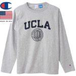 チャンピオン T1011 ティーテンイレブン ラグランロングスリーブTシャツ MADE IN USA C5-S401 オックスフォードグレー リブラセレクトストア libra select store libra-ss LBR 浜松