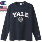 チャンピオン T1011 ティーテンイレブン ラグランロングスリーブTシャツ MADE IN USA C5-S403 ネイビー リブラセレクトストア libra select store libra-ss LBR 浜松