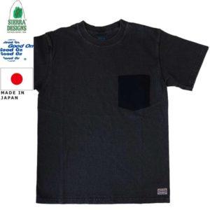 グッドオン×シェラデザインズ Tシャツ 64クロス Good On x SIERRA DESIGNS 60/40 POCKET TEE 1509Black/Black リブラセレクトストア LBRA SELECT STORE 浜松市