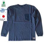 シェラデザインズ SIERRA DESIGNS コラボTシャツ Good On × SIERRA DESIGNS L/S POCKET TEE Navy/Midnight made in Japan 1512 リブラセレクトストア LBRA SELECT STORE 浜松市