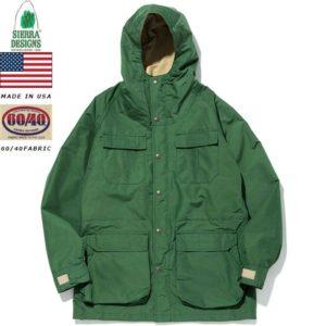 シェラデザインズ マウンテンパーカー グリーンVタン SIERRA DESIGNS MOUNTAIN PARKA Green/V.Tan 7910 60/40 64クロス リブラセレクトストア libra select store libra-ss LBR 浜松