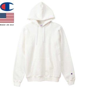 Champion チャンピオン パーカー フーデッドスウェットシャツ MADE IN USA C5-P101 ホワイト リブラセレクトストア libra select store libra-ss LBR 浜松