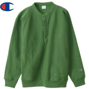 Champion チャンピオン スウェットシャツ リバースウィーブ(R) ハーフスナップスウェットシャツ C3-U031 オリーブ リブラセレクトストア libra select store libra-ss LBR 浜松